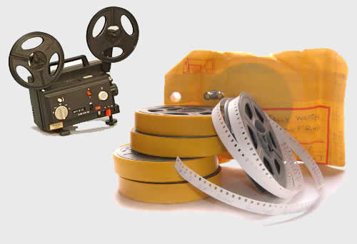 8mm Cine Film Transfer to DVD